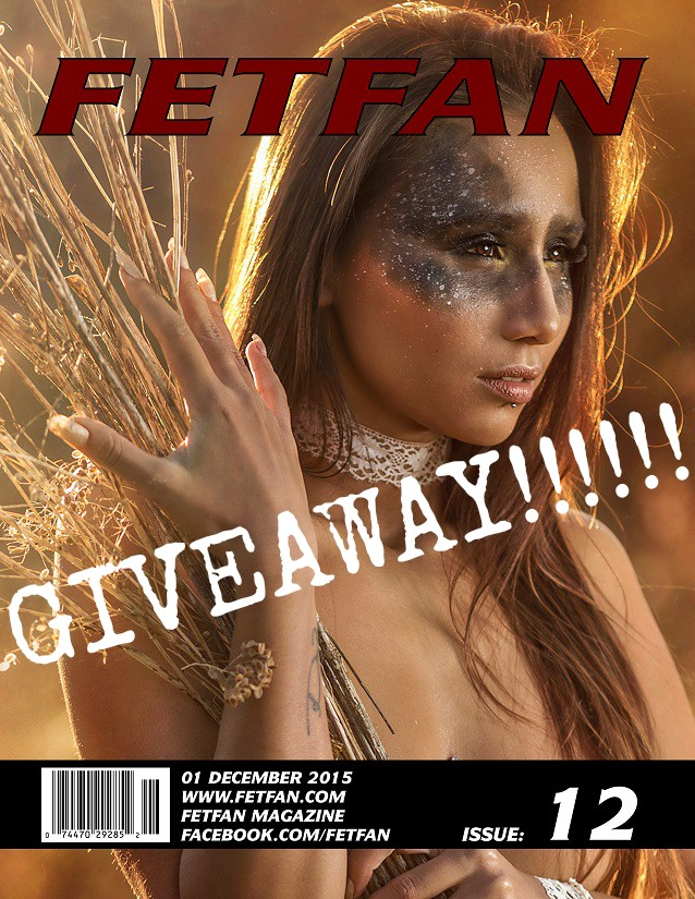 Official FETFAN Mag Issue 12 Instagram Giveaway